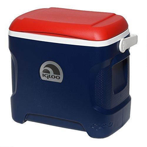 Igloo Contour Cooler Blue Red White 30 Quart