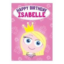 Birthday Card - Isabelle