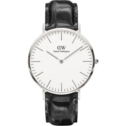 Daniel Wellington Classic DW00100028 Watch Black Leather Man