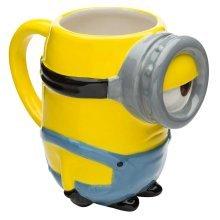 Despicable Me Stuart 3d Mug - Official Minions Sculpted Back School -  official minions stuart 3d sculpted mug back school