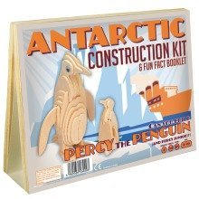 Antarctic Construction Kit & Fun Fact Booklet - Percy the Penguin