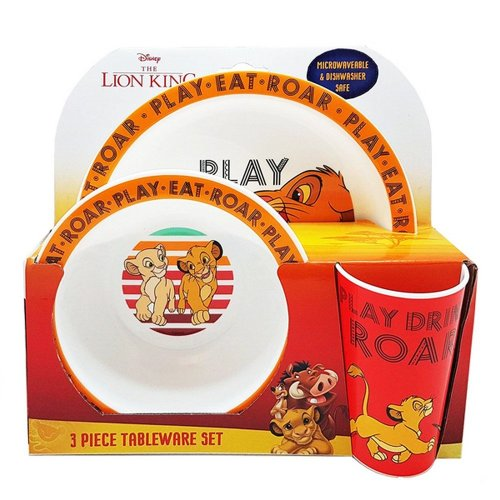 The Lion King Kids/Childrens Tableware Set