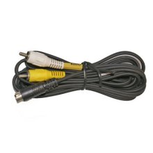 Sanyo Mini 8 Pin To 2 Phono Plug Cable 1.5m