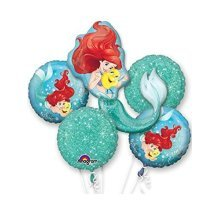 Ariel Dream Big Bouquet Foil Balloons