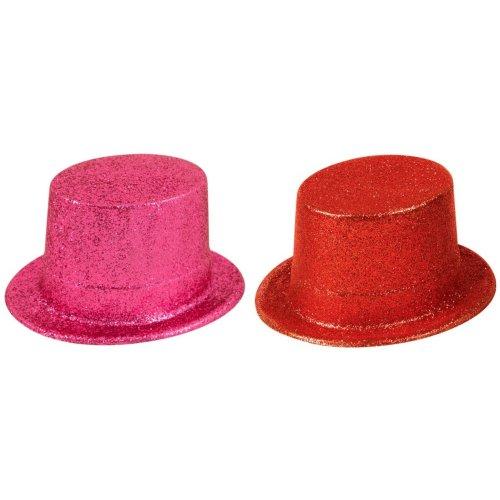 Henbrandt Unisex Glitter Top Hat