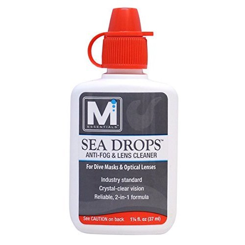 M Essentials Sea Drop Anti Fog Lens Cleaner for Dive Masks
