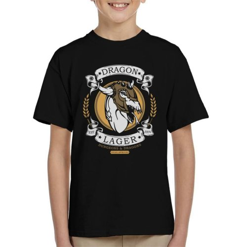 Dungeons And Dragons Dragon Lager Kid's T-Shirt