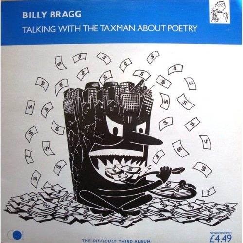 Talking With The Taxman About Poetry [Audio Cassette] Billy Bragg