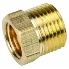 Brass Male 3/8 X 1/4 Bsp - Male X Female Reducing Bush Adapter Thread Reducer