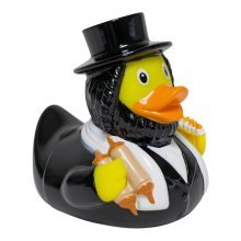 Lilalu Rabbi Rubber Duck Bathtime Toy