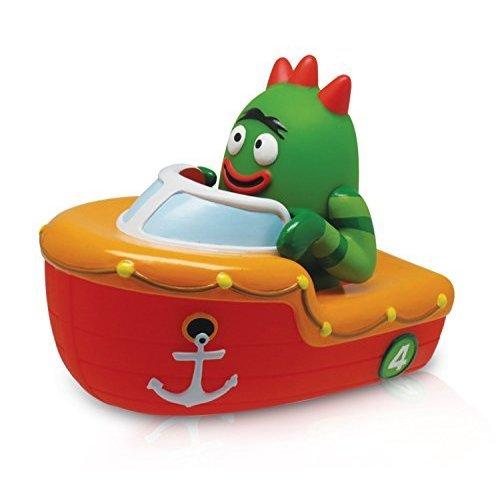 YO GABBA GABBA - Brobee Boat Squeezy Bath Toy