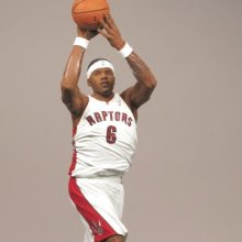JERMAINE ONEAL / TORONTO RAPTORS WHITE JERSEY McFarlane 6 Inch NBA SERIES 16 Sports Picks Action Figure