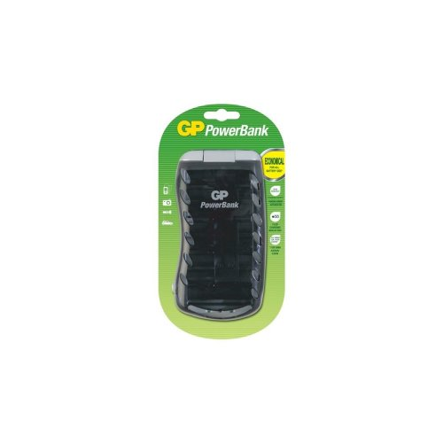 Universal PowerBank Battery Charger - AA, AAA, C, D & 9V