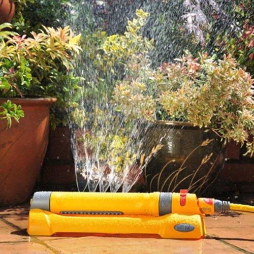 Hozelock Rectangular Sprinkler Garden Watering 230 m² Irrigation Sprayer