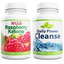 Wild Raspberry Ketone and Daily Power Cleanse New Formula Diet Pills