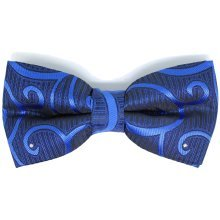 Dickie Bows Crystal Swirl Wedding Bow