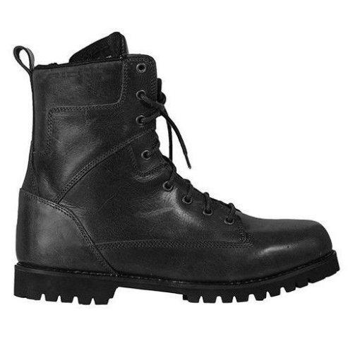 Richa Brookland Black Leather Waterproof Boots