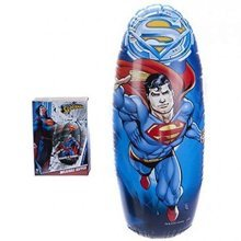 Ultimate Superman Bop Bag Inflatable Toy - Boxing Bopper Weighted Kids Gift -  superman inflatable bag toy boxing bopper weighted kids gift batman