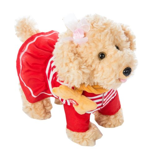 Walking Puppy Dog Plush Toy with Music