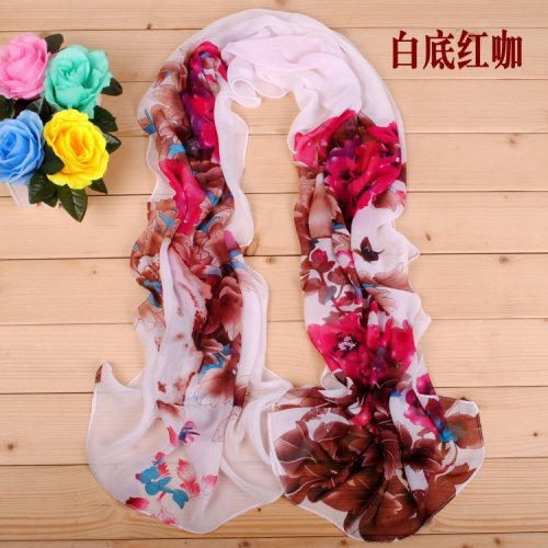 160 50cm Large Butterfly Flowers Floral Fashion Ladies Scarves Women Shawls X324