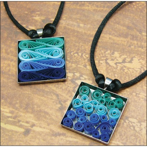Quilled Creations Quilling Kit-Modern Waves Necklace