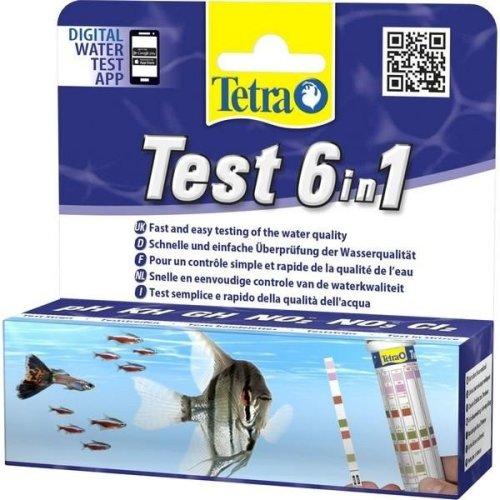 Tetra 6 In 1 Water Test Strips