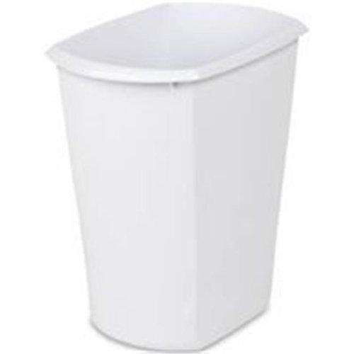 Sterilite Corp Wastebasket Rect Wht 3 Gal 10518006