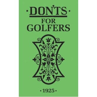 Don'ts for Golfers