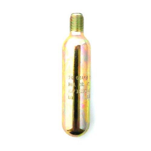 24g GRAM CO2 Cylinder for Lifejackets - zinc coated