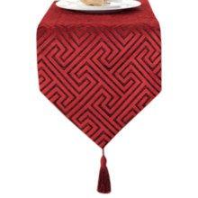 12*79 Inch, Elegant Table Runner Bed Runner Tablecloth Bed flag Red