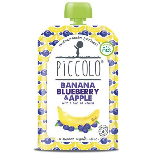 Piccolo Banana & Blueberry Hint Of Vanilla | 100g x 5