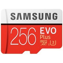 Samsung 256GB 95MB/s Memory Evo Plus Micro SD Card with Adapter