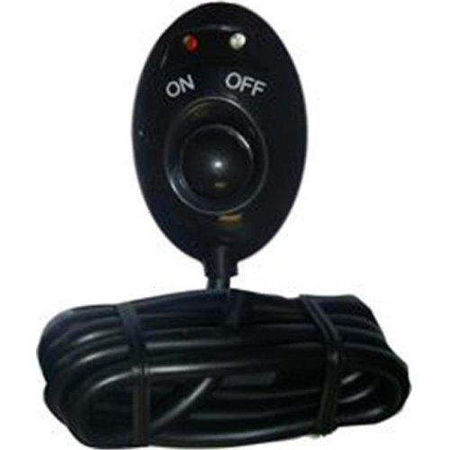 Pilot Automotive PL-SW17B Black Push Button Switch With Blue-Red L.E.D.
