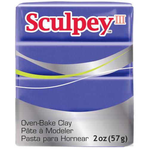 Sculpey III Polymer Clay 2oz-Purple