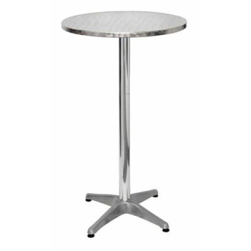 Krisco Tall Poseur Table Stainless Steel 105 Cm High Indoor/ Outdoor Table
