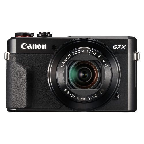 Canon PowerShot G7X Mark II Compact Digital Camera - Black