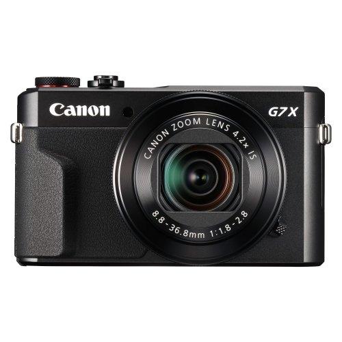 Canon PowerShot G7X Mark II Compact Digital Camera - Black