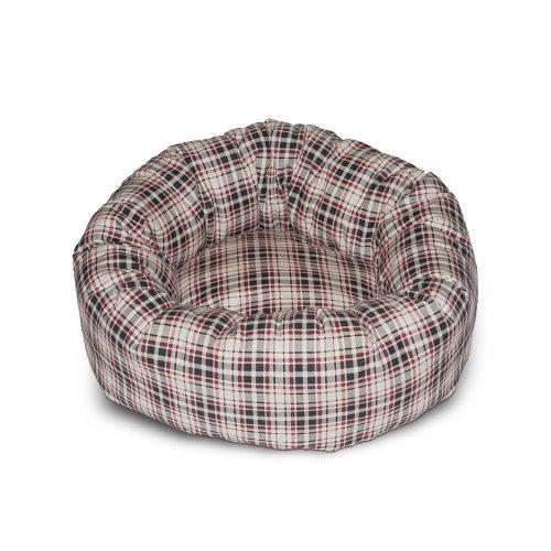 Classic Check Cream Cushion Bed 76cm (30'')