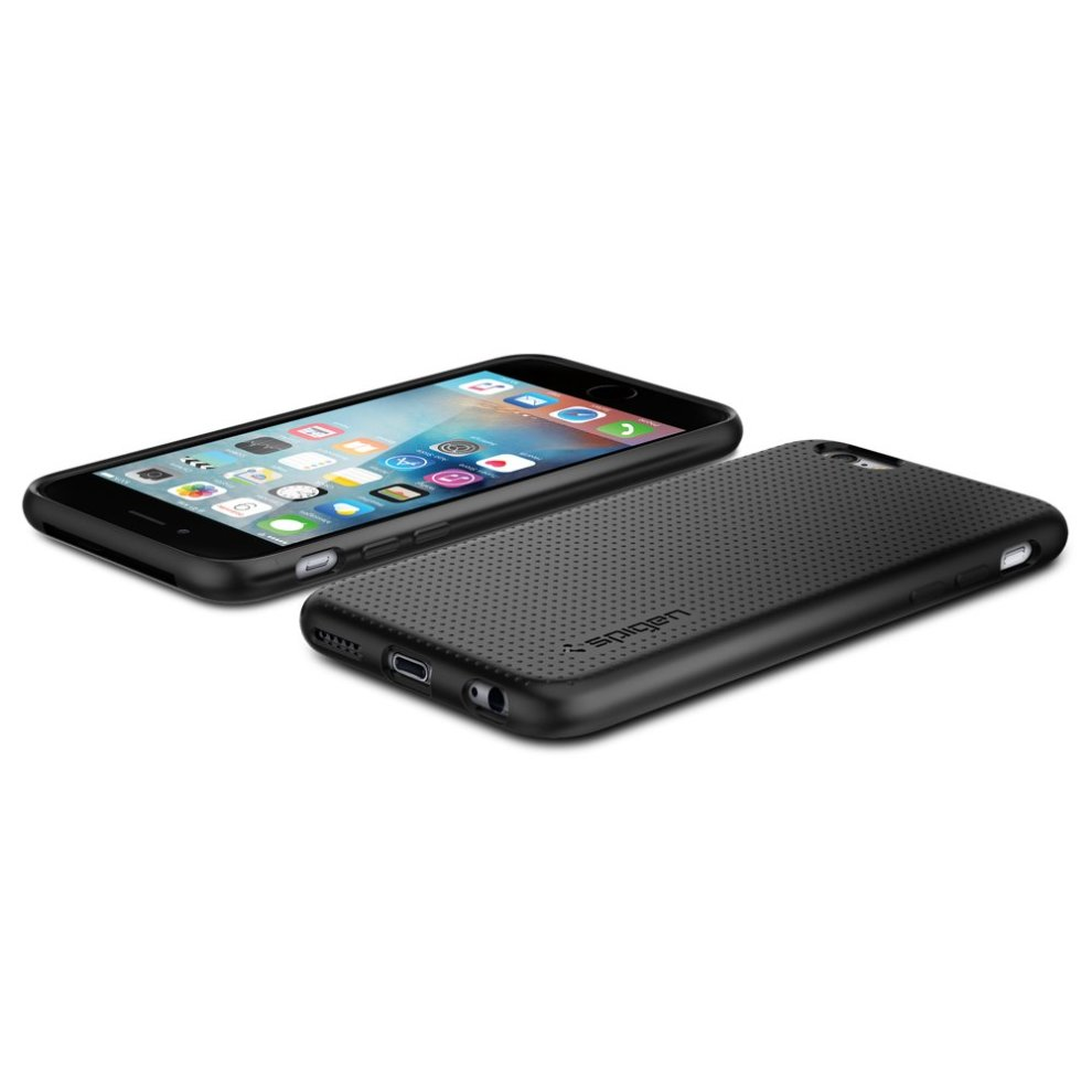 buy popular 9a2f7 470c1 Spigen, SGP11751, Liquid Air, iPhone 6 / 6s Case, Shock Resistant Air  Cushion Technology TPU Slim Protection iPhone 6s Case iPhone 6 Case - Black