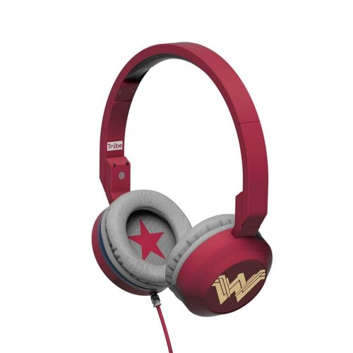 Tribe Wonder Woman Movie Foldable Headphones