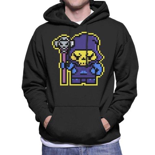 Pixel Skeletor Men's Hooded Sweatshirt