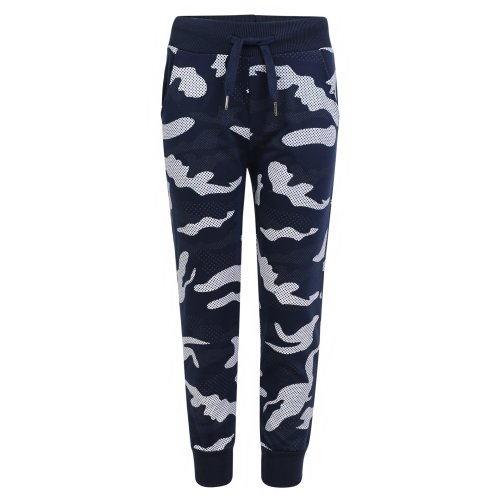 Kids Camo Dot Print Tracksuit Trousers