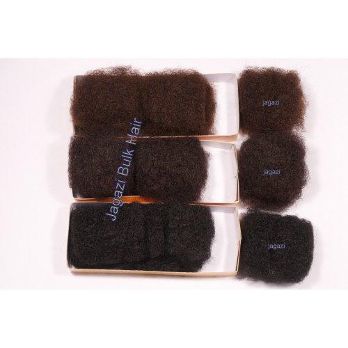 Super Soft Human Hair Afro Kinky BULK - dreadlocks