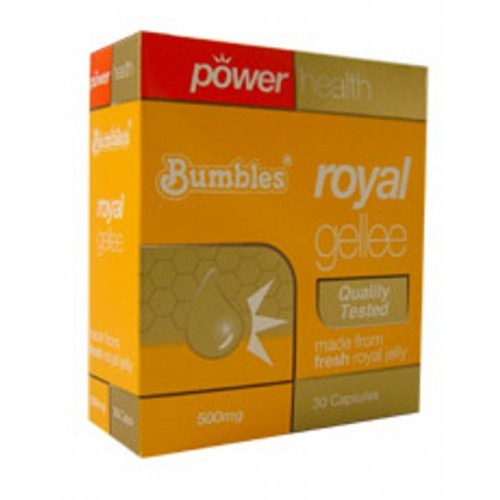 Power Health Bumbles Royal Gellee 500mg  90 Caps