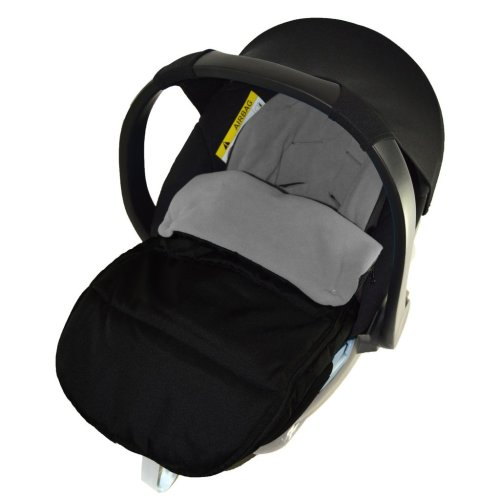 Car Seat Footmuff//Cosy Toes Compatible with Mountain Buggy New Born Car seat Dolphin Grey
