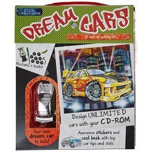 Boxset Cool Creations: Dream Cars (Activity Pack)