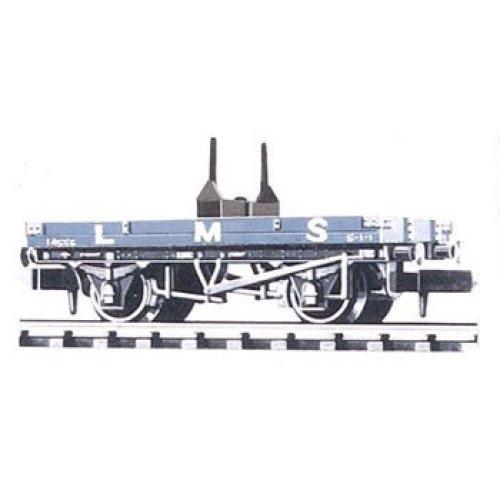 Bolster, Wagon LMS, Bauxite - Peco NR-39M - free post