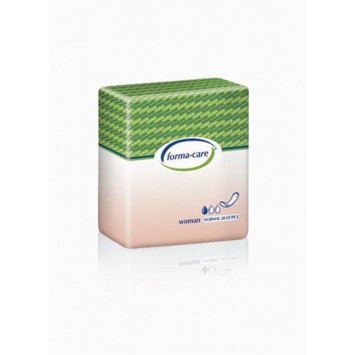 Small Shaped Incontinence Pads For Women - Formacare Disposable Pads for Women