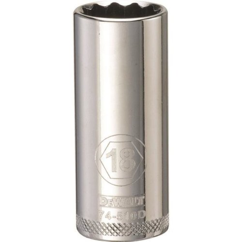 Stanley Tools 227916 18mm Deep Socket - 0.37 in. Drive
