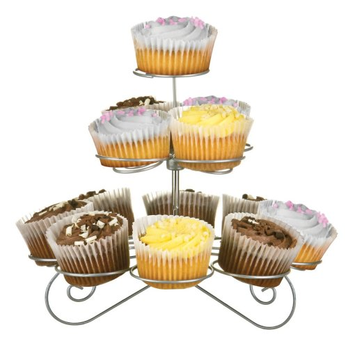 3-Tier Cupcake Stand - Chrome